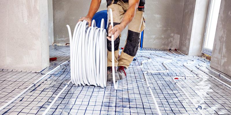 Fussbodenheizung - Fußbodenheizungsrohrreinigung / Brima GmbH Murg