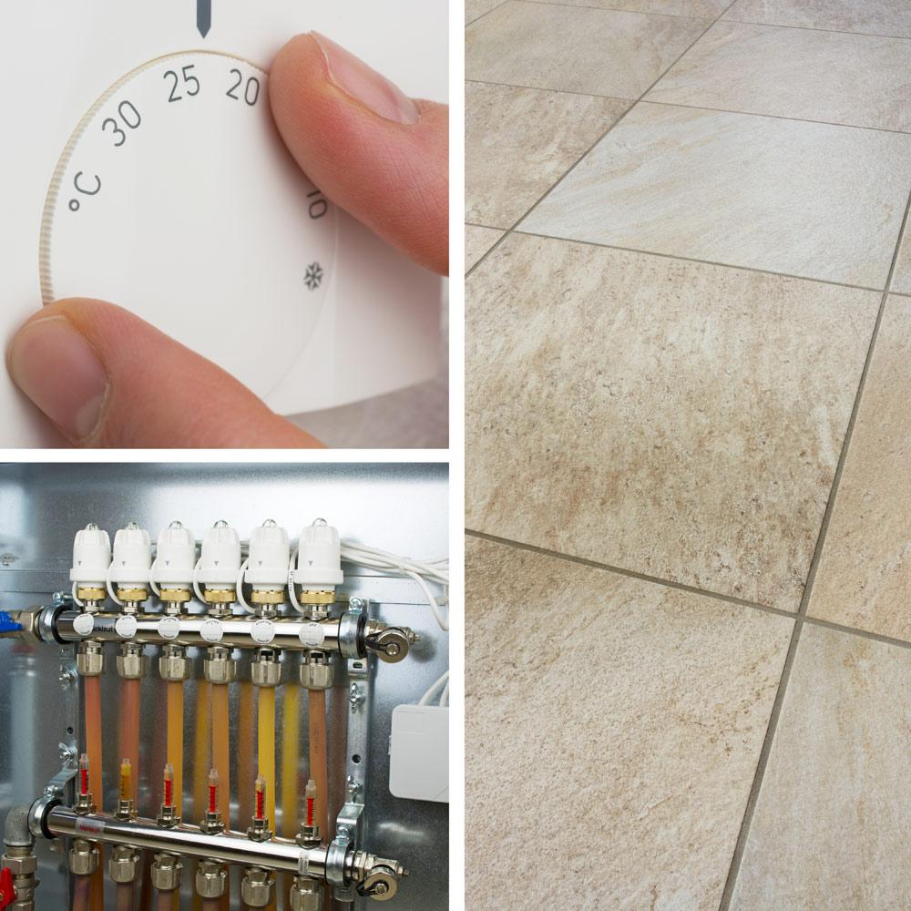 Fussbodenheizung // Fußbodenheizungsrohrreinigung / Brima GmbH Murg